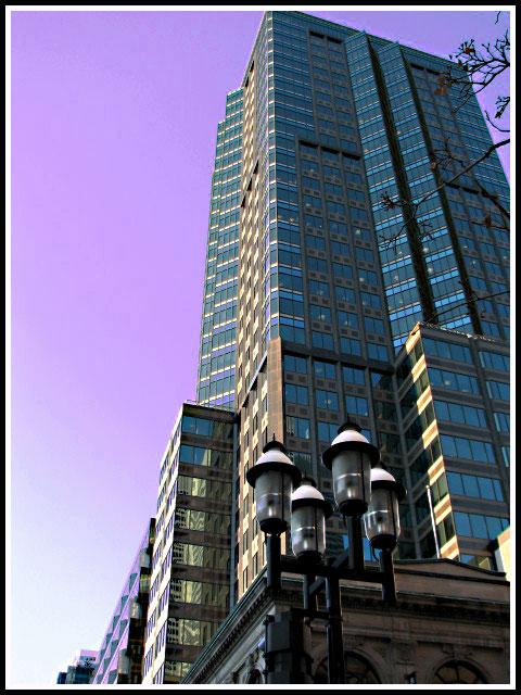 Torre de rascacielos en Montreal.