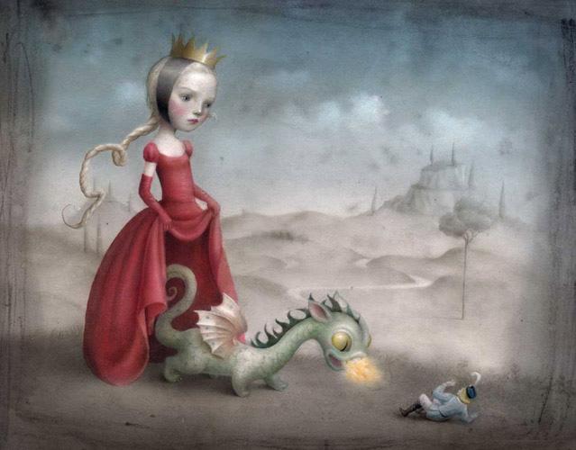 Princesa y Dragón