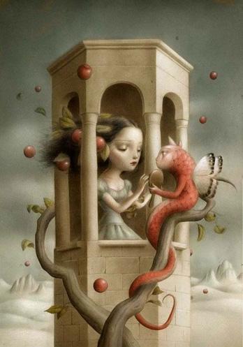 Princesa en su torre