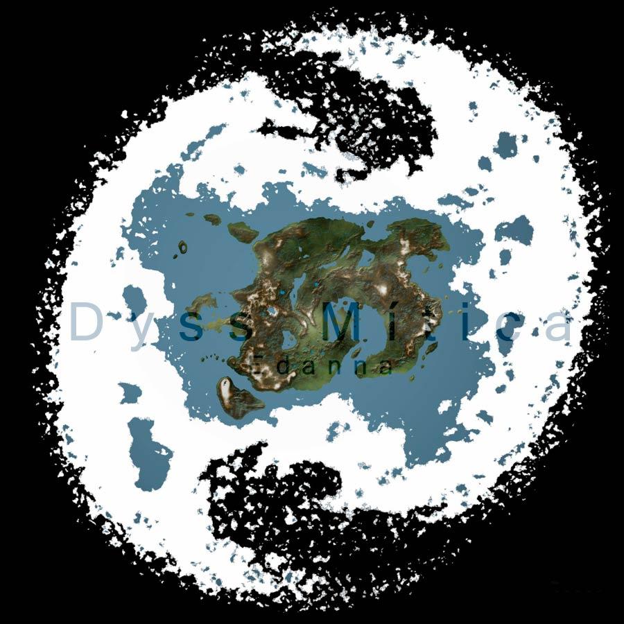 Mapa general del Mundo de Dyss