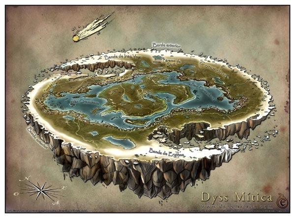 Dyss Mapa Global