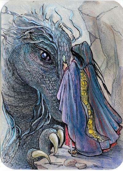 Magissa y dragón