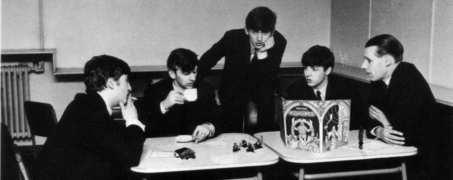Beatles jugando al rol