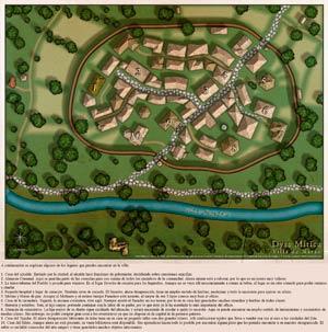 Mapa de NArán con leyenda
