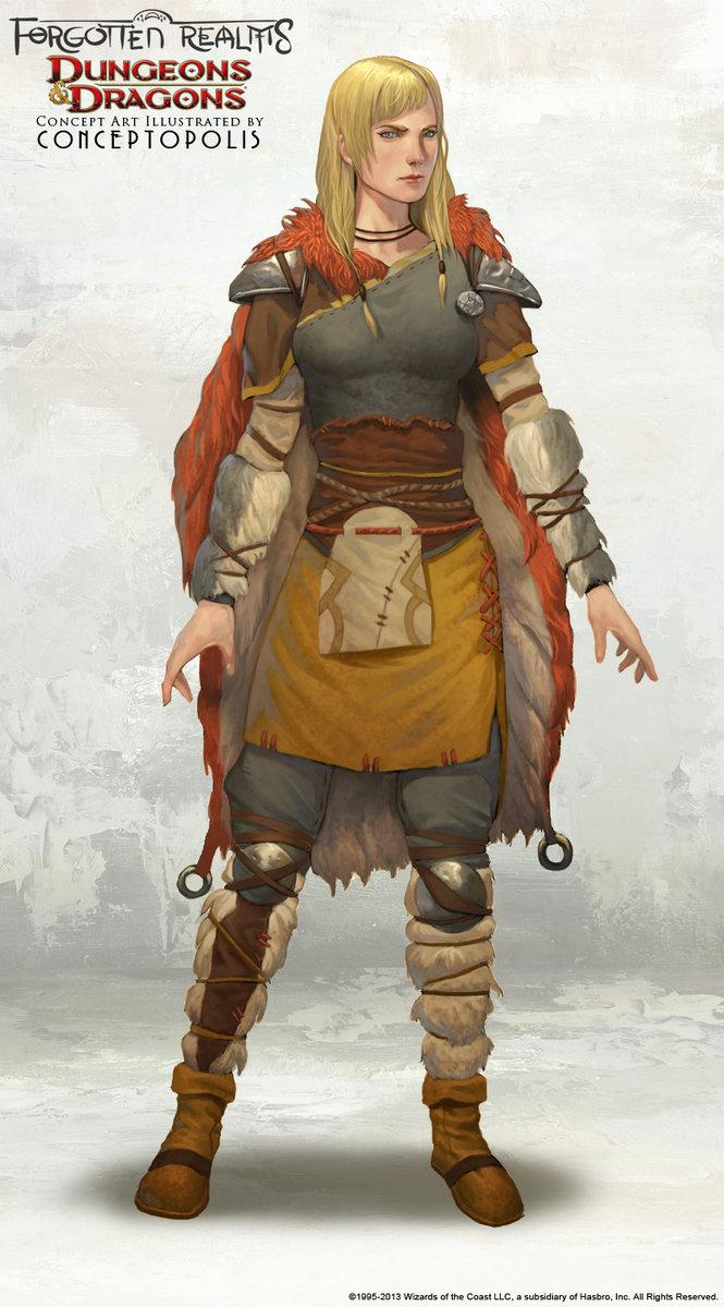 Bárbaro mujer