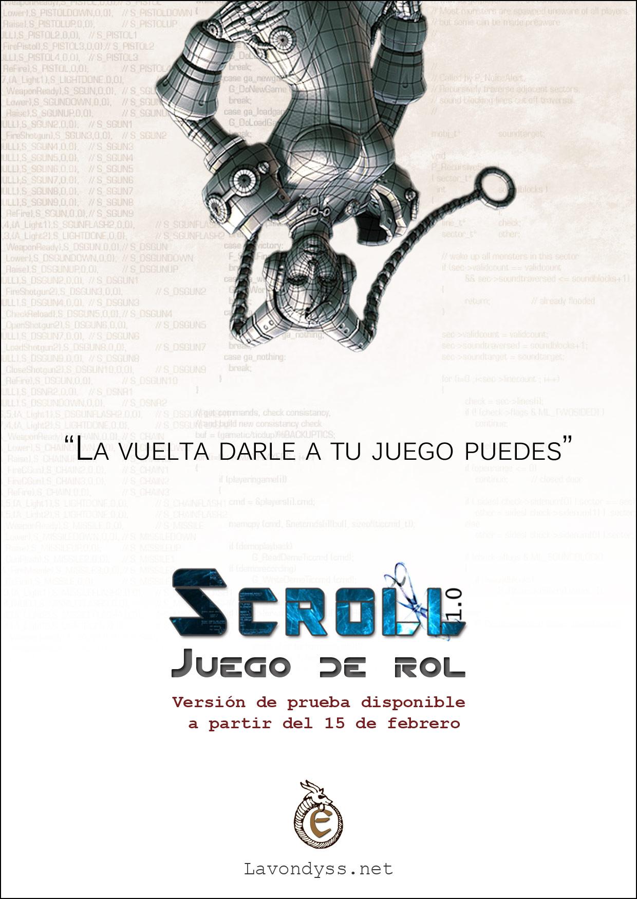 Promoción de Scroll