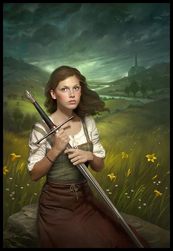 joves con espada