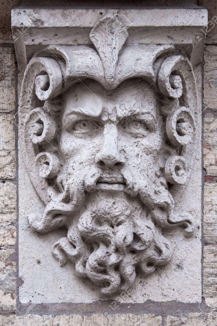 Rostro de piedra